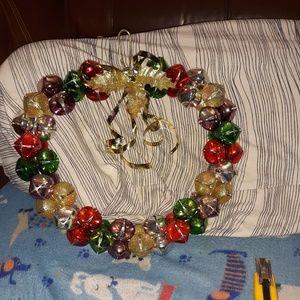christmas bell wreath